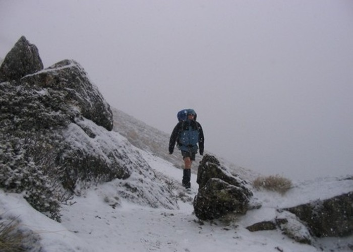 Just Another Winters Day Tramping...