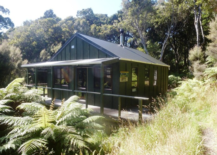 East Ruggedy Hut a.k.a. 'The Ritz'