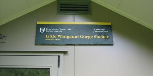 Little Wanganui Gorge Shelter name