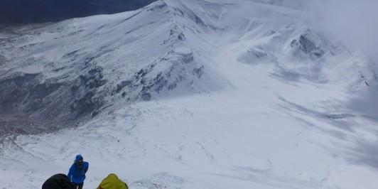 Winter ascent - Mt Ngauruhoe