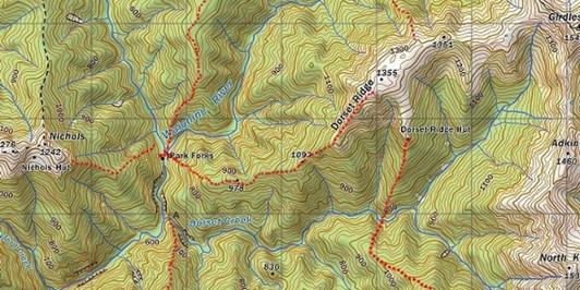 Park Forks routes