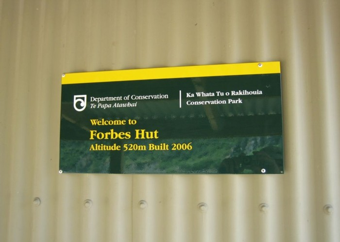 Forbes hut