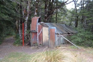 Old Tent Camp Hut, Cobb Valley. Replaced July 2014