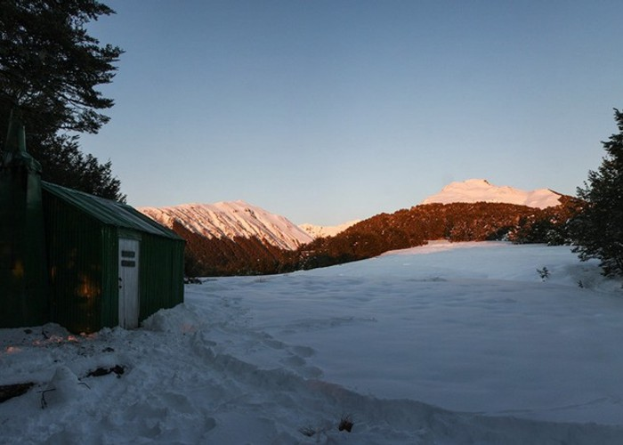 Bealey Spur Hut - Winter 2015 - Night