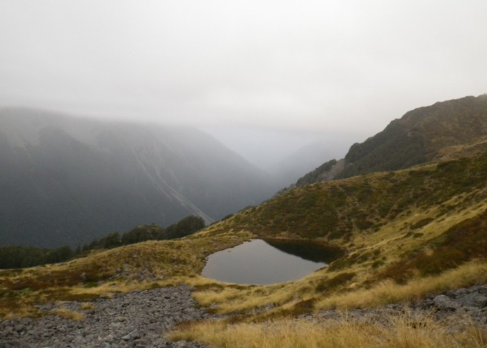 Tarns on range south of Mt Misery
