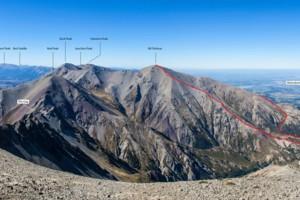Mt Torlesse routes