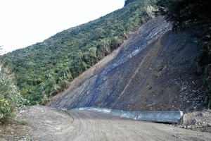 Blue Bluff Slip Otaki Forks Reopened