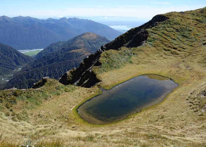 Tarn on Tara Tama Range