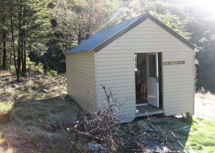 Top Gordon hut