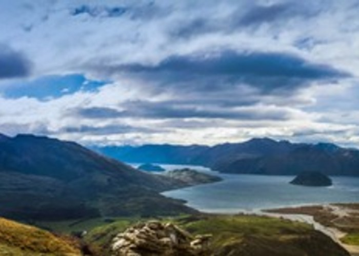 Lake Wanaka from Rocky Peak #2