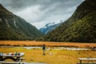 View from the Routeburn Falls Hut