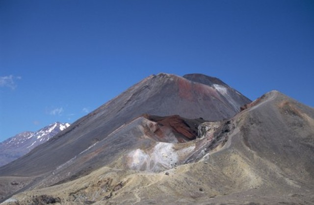 Ruapehu, Ngauruhoe, and Red Crater