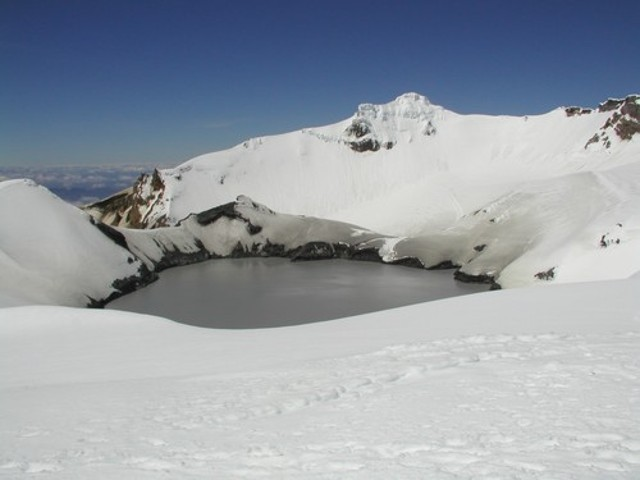 Ruapehu Summit Dec 2002