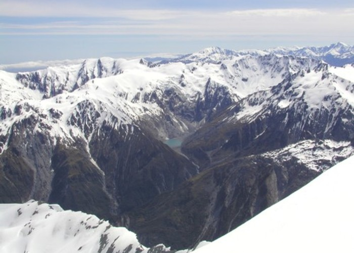View from Drummond Peak - Franz Josef Glacier