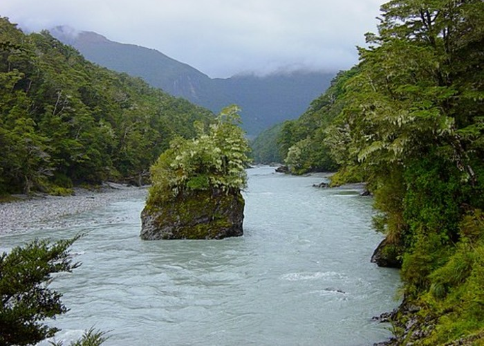 The Dart River - South Island