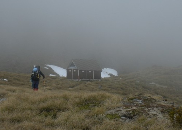 The last yards to Brewster Hut