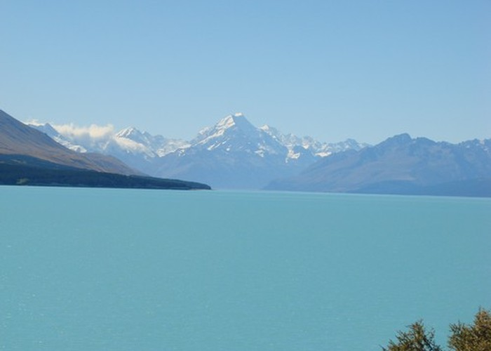 A fine day to view Mt Cook