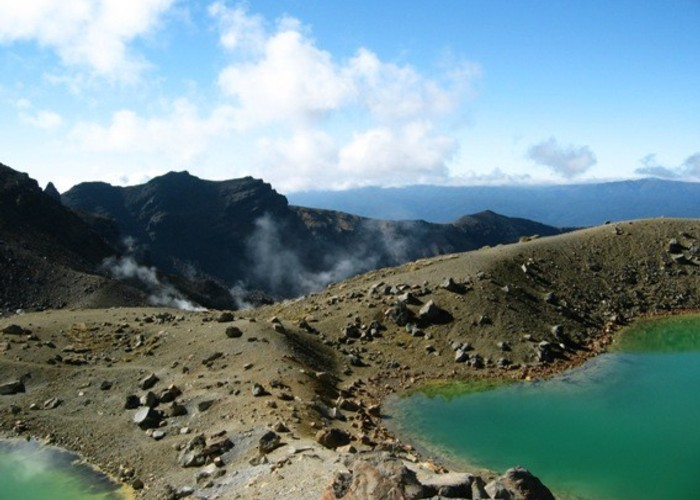 Emerald Lakes - Tongariro