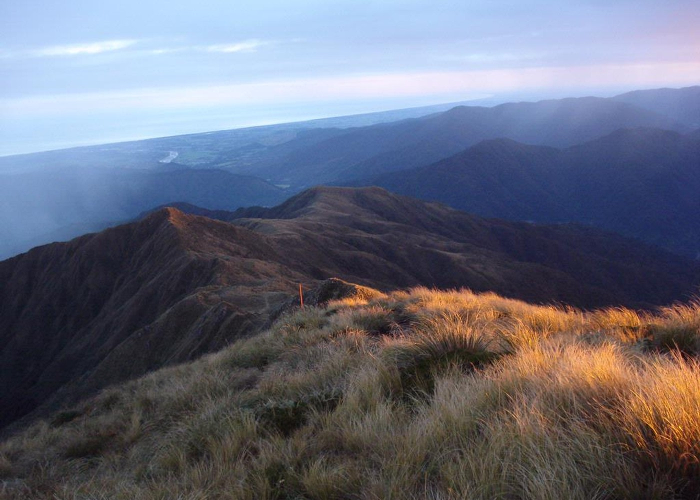 Route Guide: Southern Crossing of the Tararuas   New Zealand