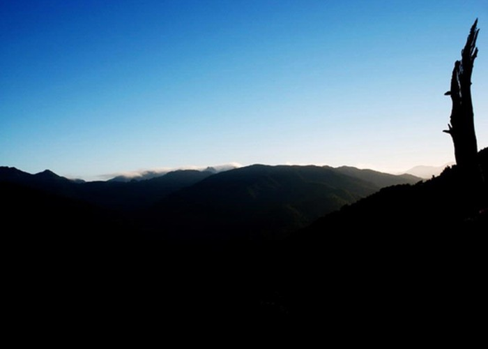 Tararua Peaks from Mt.Reeves