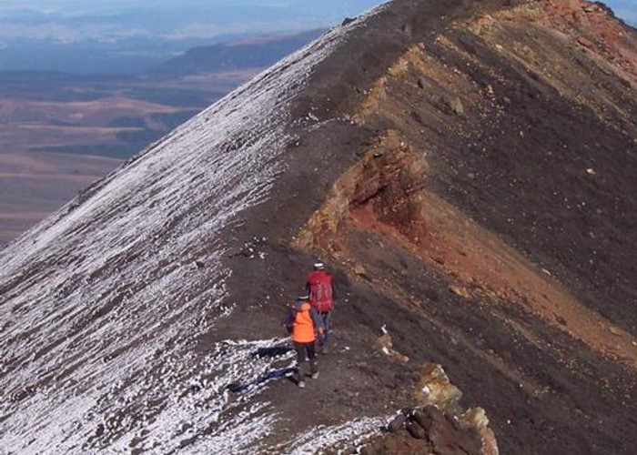 Ngauruhoe Crater ridge