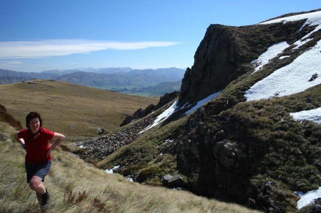 Trifalls Stream, near the summit