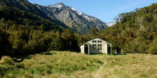 Cannibal Gorge Hut