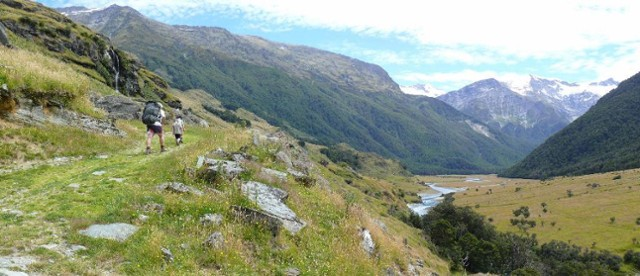 West Matukituki valley