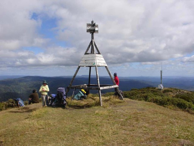 Mt Pureora Summit