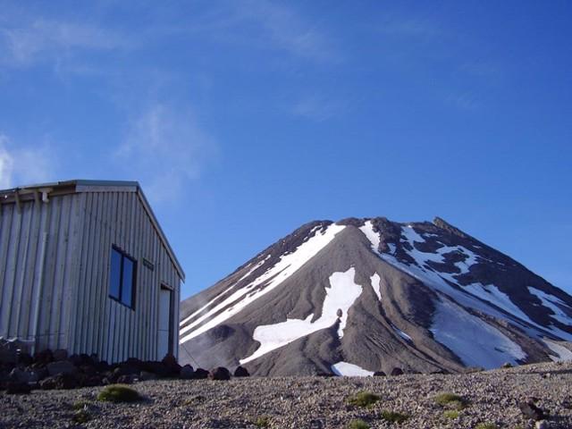 Syme Hut , Fantham's Peak