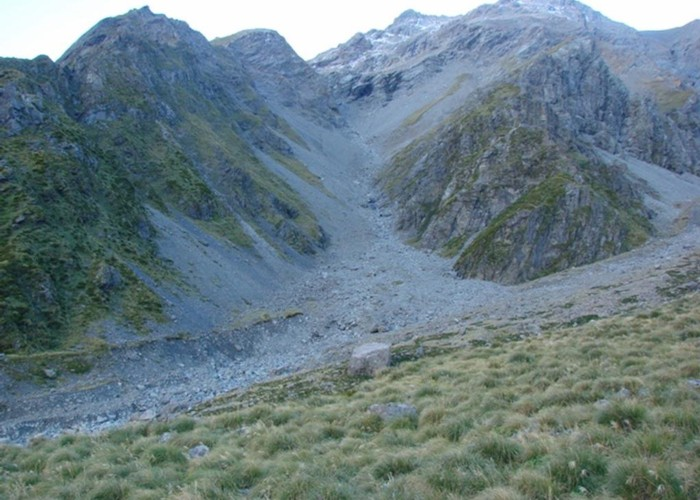 Scree on the Ball Pass route