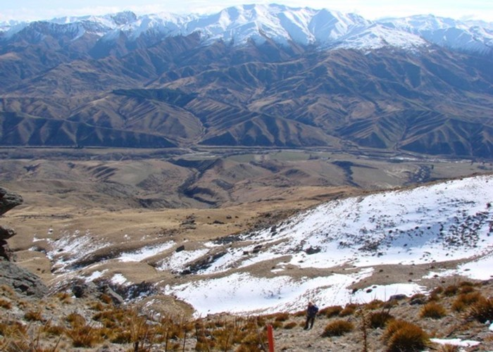 Cardrona valley from the Criffel Range
