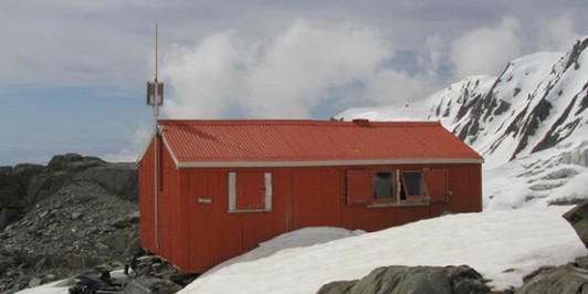 Alma Hut on Franz Josef glacier