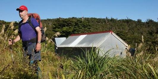 Kauritatahi Hut from South