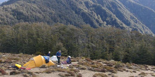 Camping on the Tops