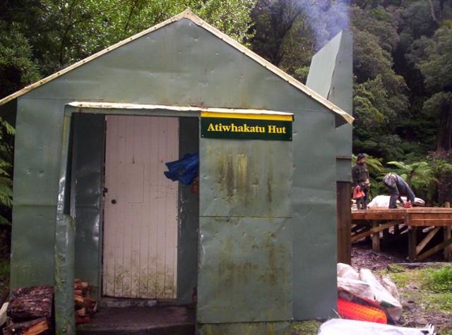 old Atiwhakatu hut