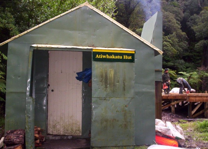 old Atiwhakatu hut