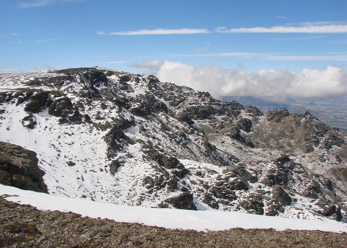 The summit of Mt.Pisa - Otago