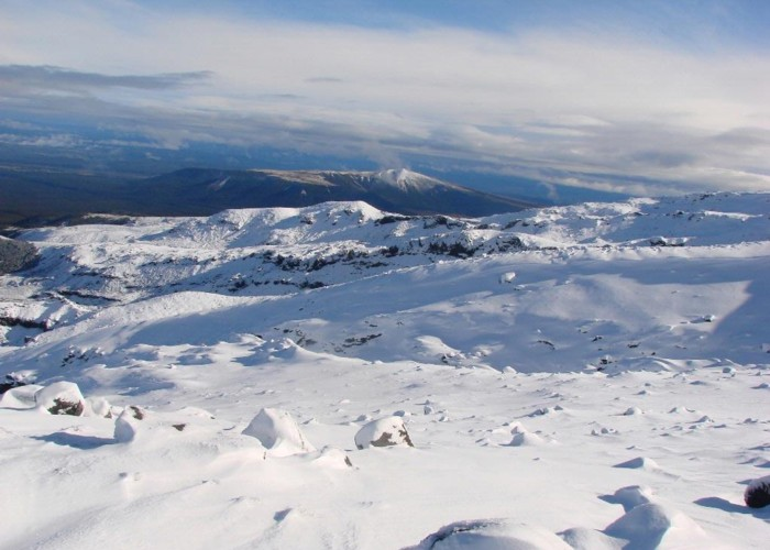 From the slopes of Ruapehu