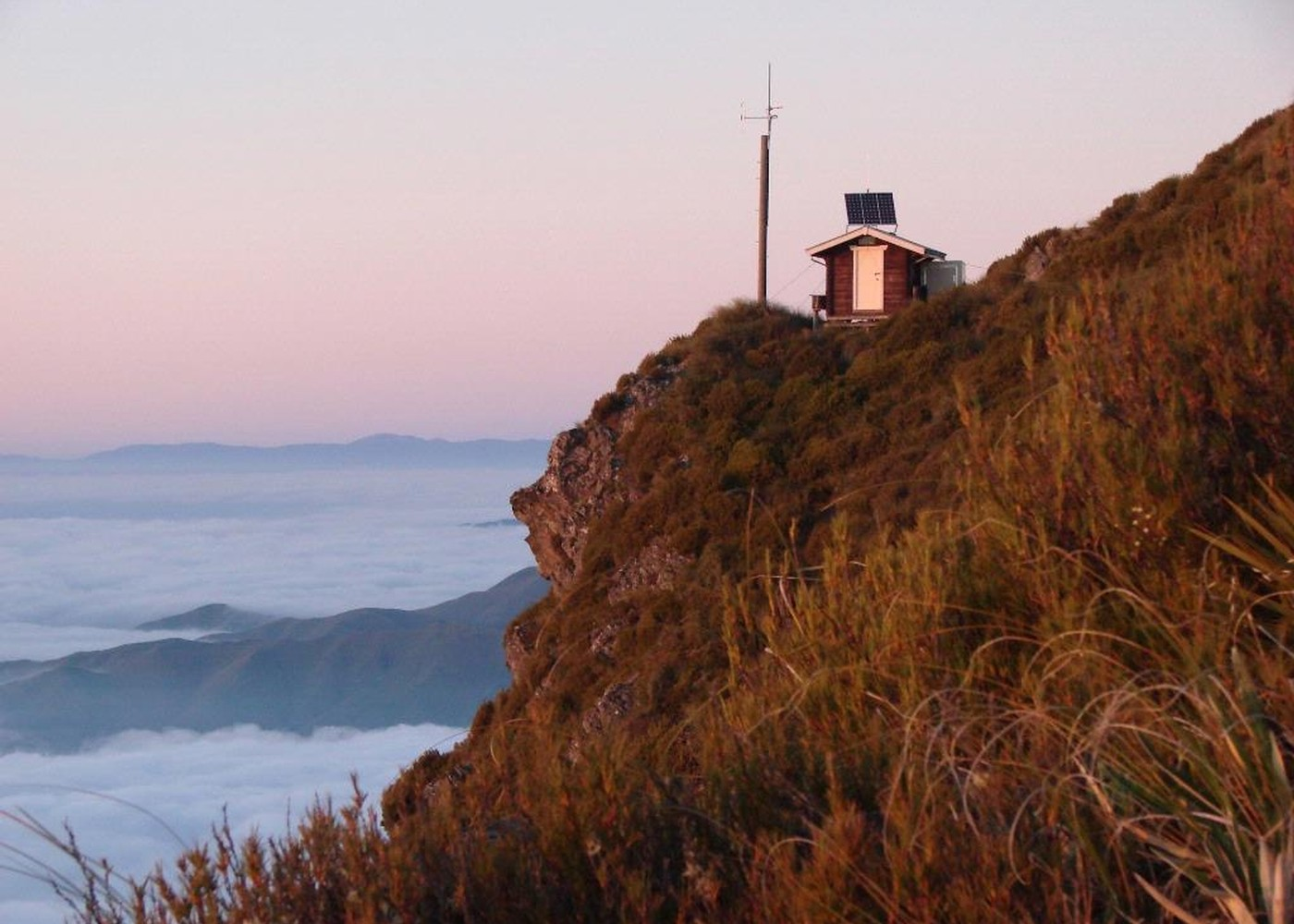 Little Mount Peel New Zealand Tramper - Height above sea level finder