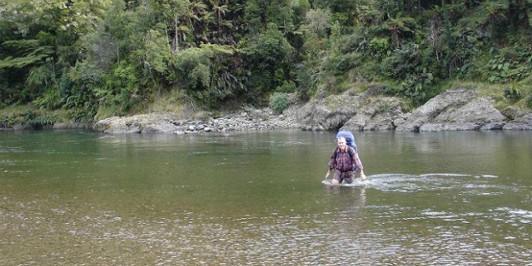 Crossing the Whakatane
