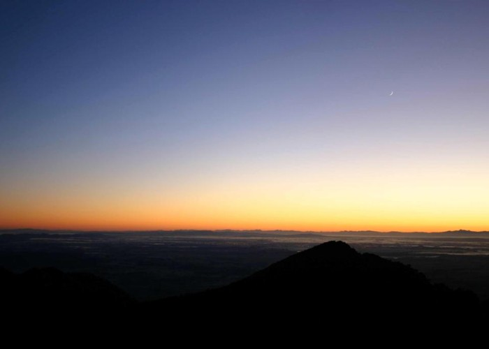 Sunrise Atop Pirongia
