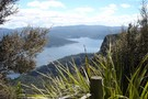 Lake Waikaremoana from Panekiri Hut (1180m)
