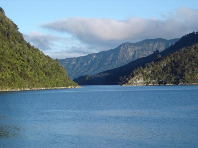 Panekiri Range from the Whanganui Inlet
