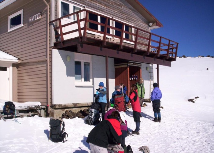 Hutt Valley Tramping Club lodge Mt Ruapehu