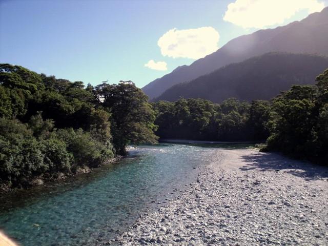 The Olivine River