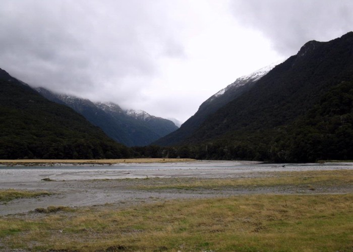 The Young River/Makarora River Confluence