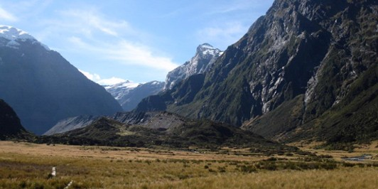 Lake Lucidus Morain Walls and the Upper Wilkin Valley