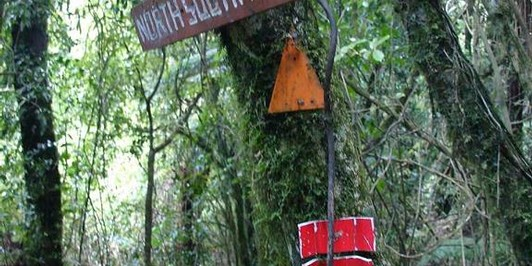 Junction now well marked