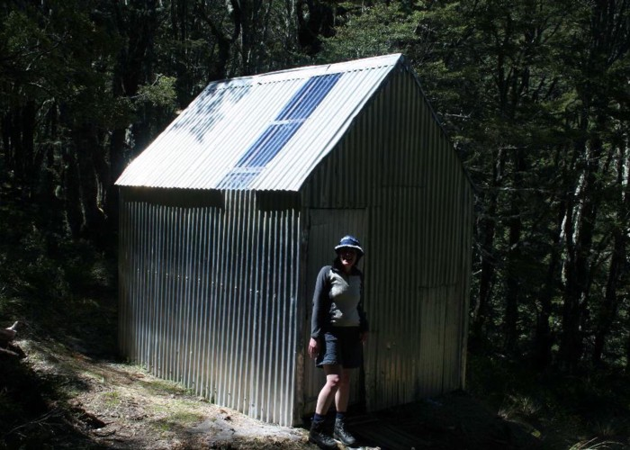 Lagoon Saddle Hut